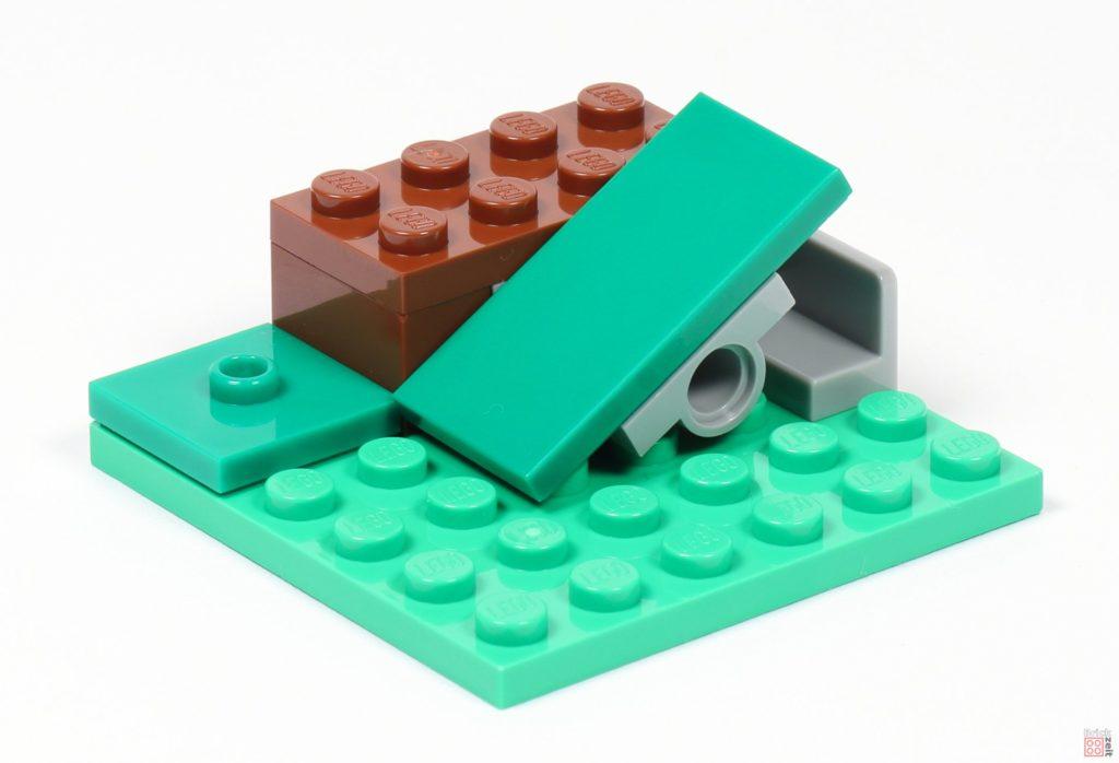 LEGO® Minecraft 30393 Steve und Creeper - Bau der Wippe/Rampe | ©2019 Brickzeit