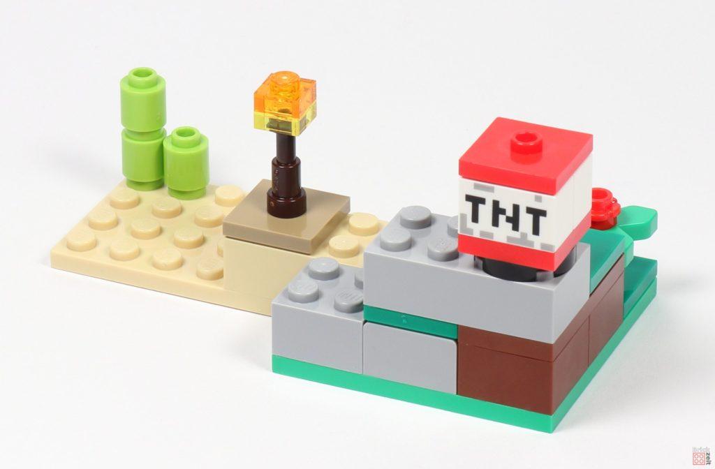 LEGO® Minecraft 30393 Steve und Creeper - Landschaft, Rückseite | ©2019 Brickzeit