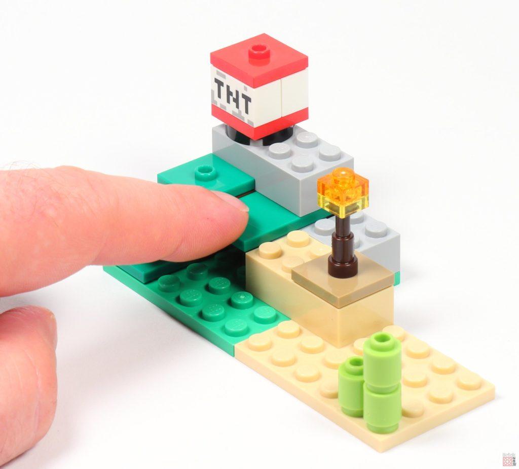LEGO® Minecraft 30393 Steve und Creeper - Auslöser | ©2019 Brickzeit