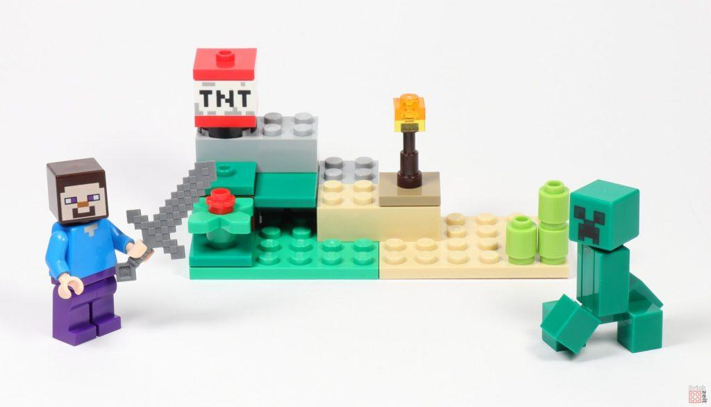 LEGO® Minecraft 30393 Steve und Creeper | ©2019 Brickzeit