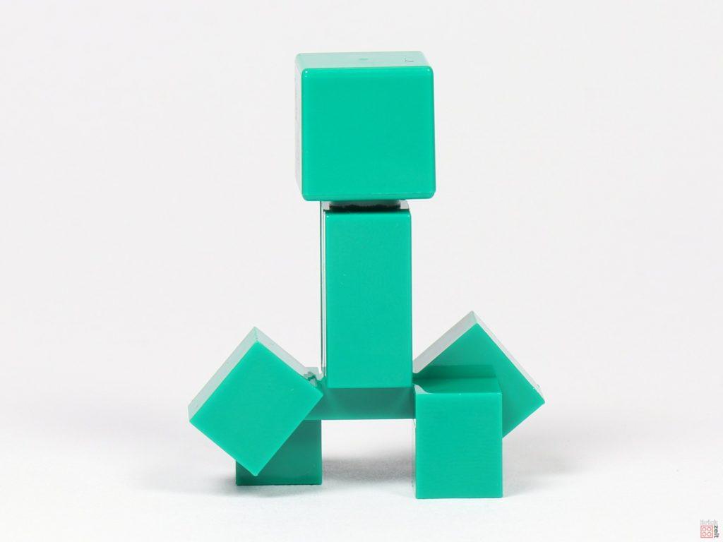LEGO® Minecraft 30393 Creeper, linke u. rechte Seite sind identisch | ©2019 Brickzeit