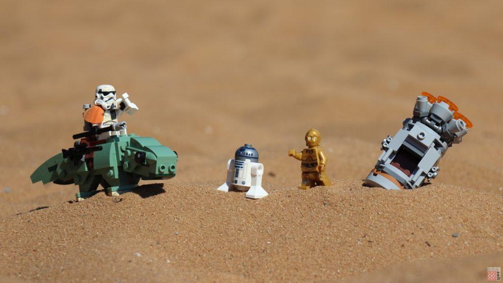 LEGO® R2-D2 und C-3PO wurden entdeckt | ©2019 Brickzeit