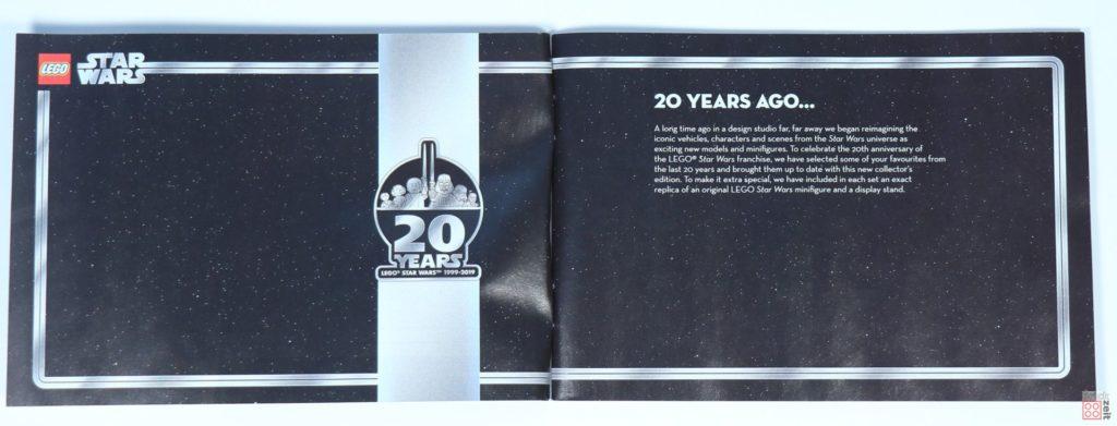 LEGO® Star Wars™ 75262 - Booklet Seite 1 | ©2019 Brickzeit