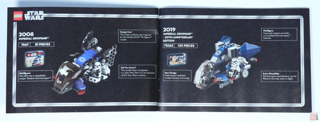 LEGO® Star Wars™ 75262 - Booklet Seite 2 | ©2019 Brickzeit