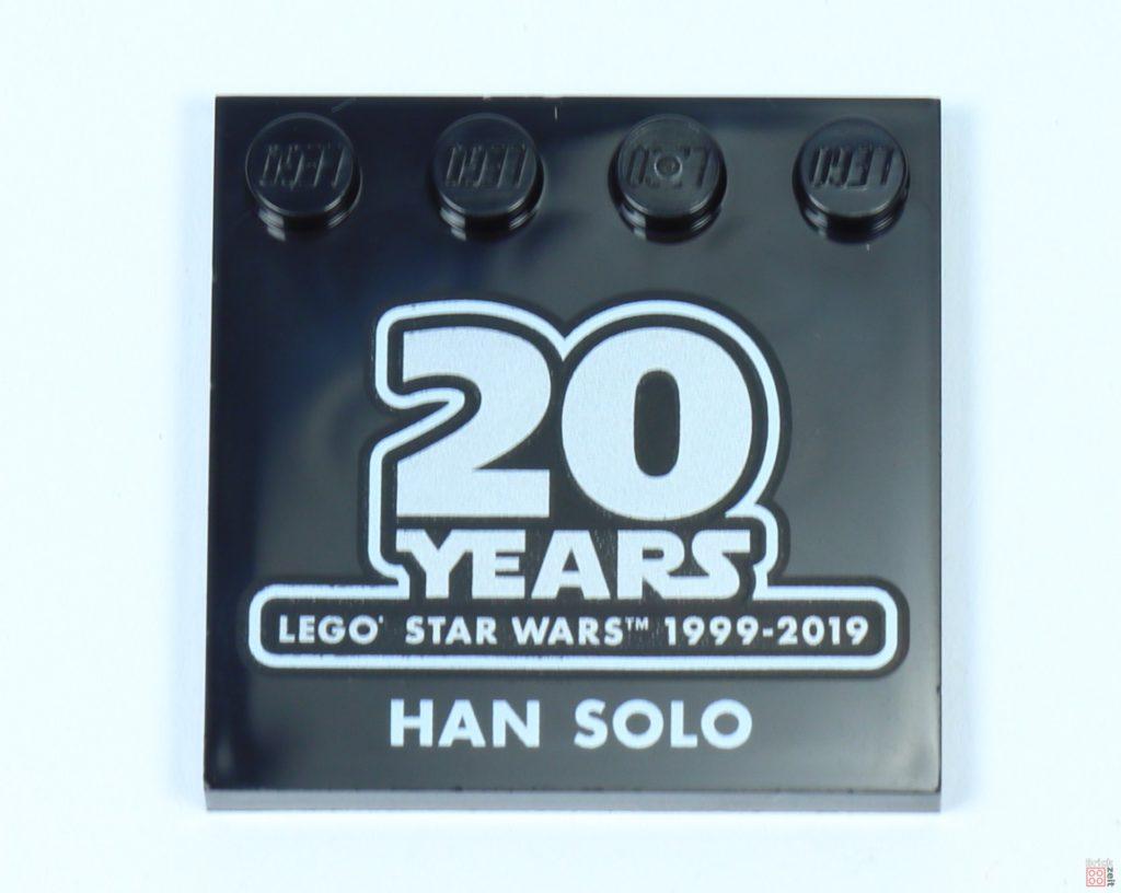 LEGO® Star Wars™ 75262 - Han Solo Jubiläumsfließe | ©2019 Brickzeit
