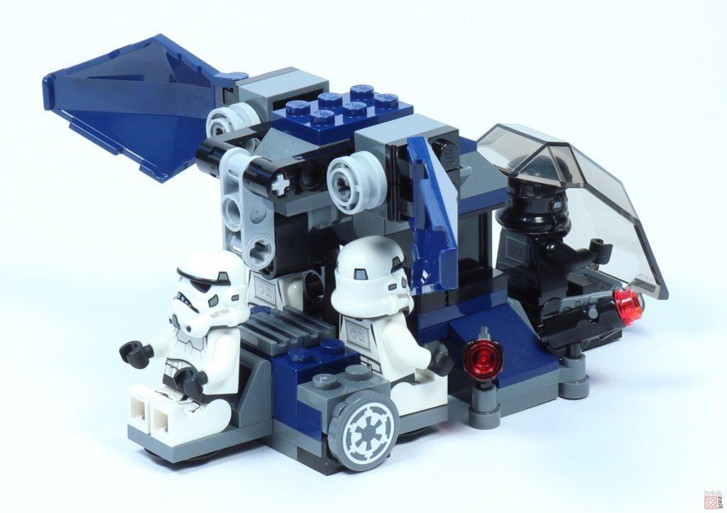 LEGO® Star Wars™ 75262 Imperial Dropship mit Minifiguren, Rückseite | ©2019 Brickzeit