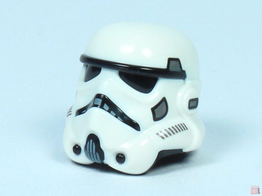 LEGO® Star Wars™ 75262 - Stormtrooper Helm, Vorderseite | ©2019 Brickzeit