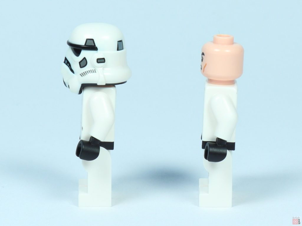 LEGO® Star Wars™ 75262 - Stormtrooper, linke Seite | ©2019 Brickzeit