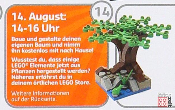 LEGO® Bauaktion Mini-Baum am 14.08.2019 | Foto von Brickzeit