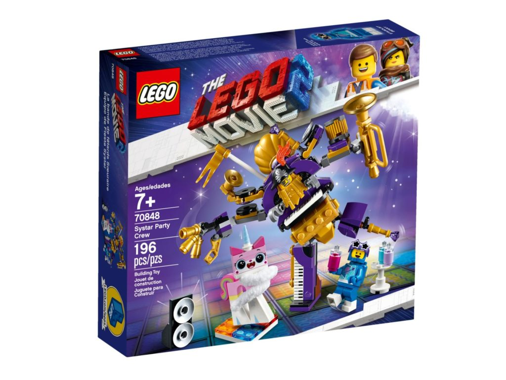 The LEGO® Movie 2 70848 Systar Party Crew - Bild 2 | ©LEGO Gruppe