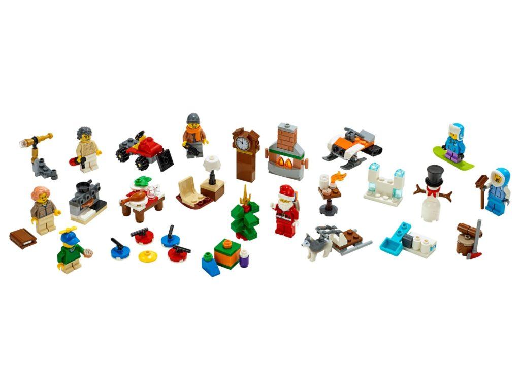 LEGO City 60235 Adventskalender 2019 - Inhalt | ©LEGO Gruppe