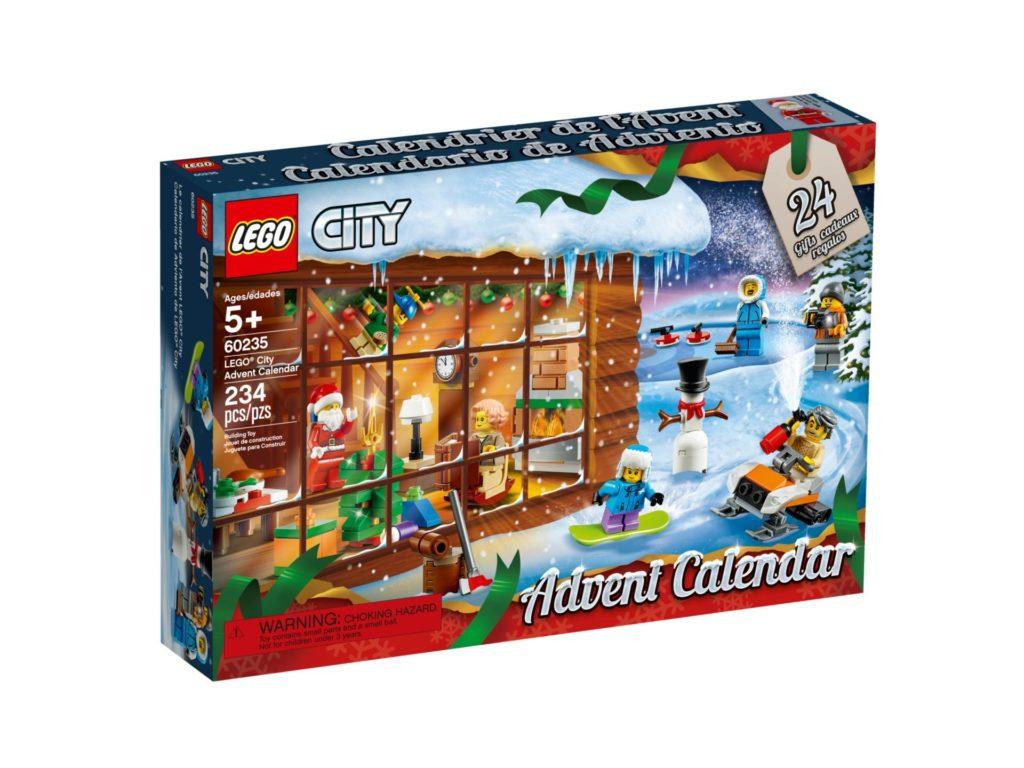 LEGO City 60235 Adventskalender 2019 - Packung Vorderseite | ©LEGO Gruppe