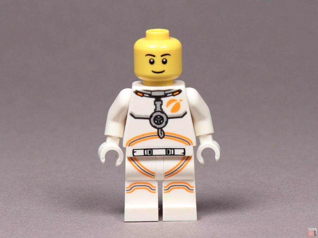 LEGO® City Astronaut, ohne Helm - Vorderseite | ©2019 Brickzeit