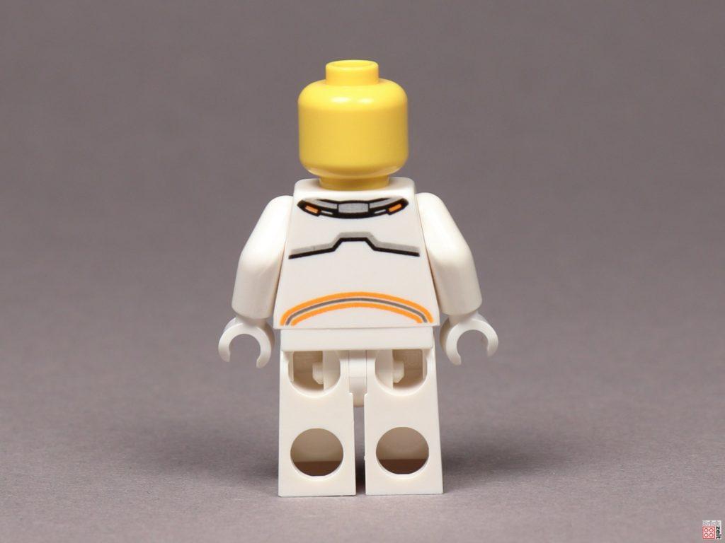 LEGO® City Astronaut, ohne Helm - Rückseite | ©2019 Brickzeit
