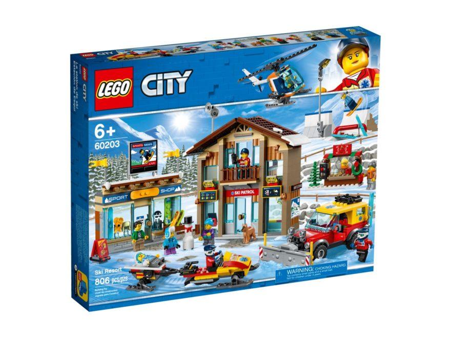 LEGO City 60203 Ski Resort - Packung Vorderseite | LEGO Gruppe