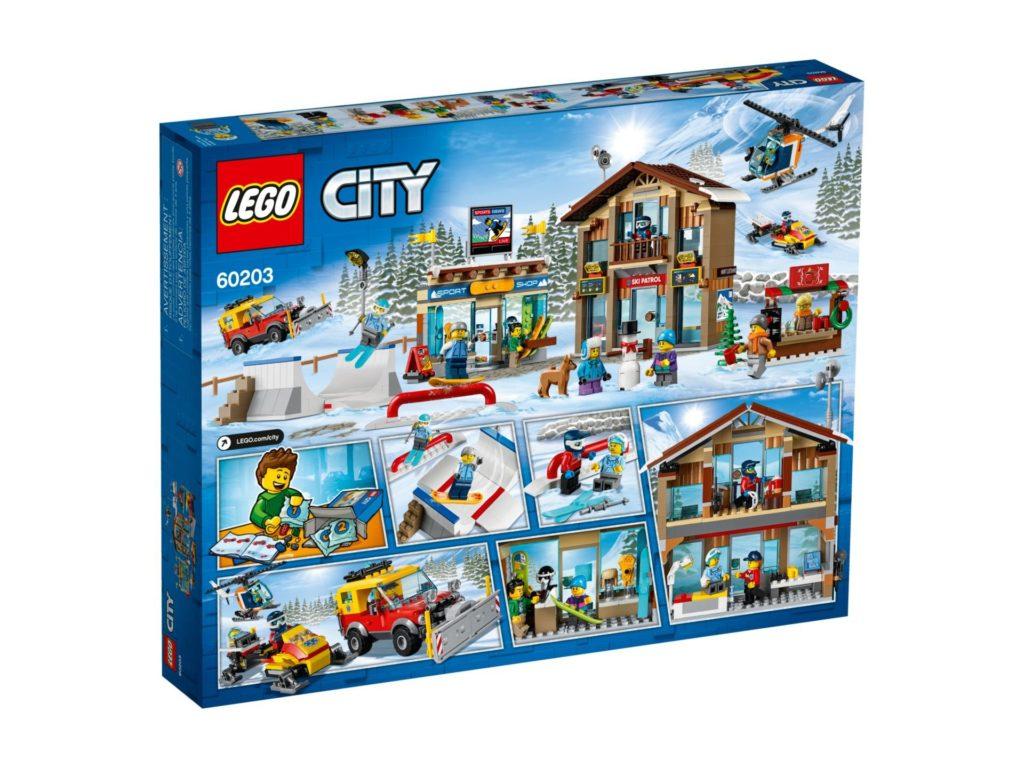 LEGO City 60203 Ski Resort - Packung Rückseite | LEGO Gruppe