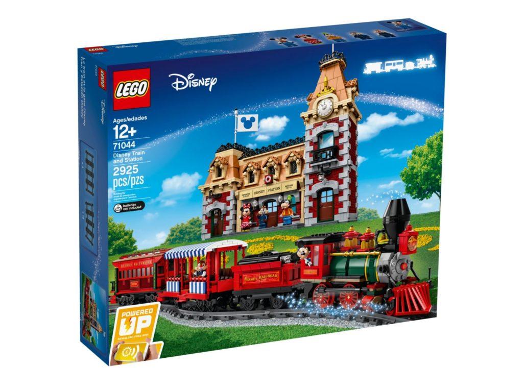 LEGO 71044 Disney Zug mit Bahnhof - Packung Vorderseite | ©LEGO Gruppe