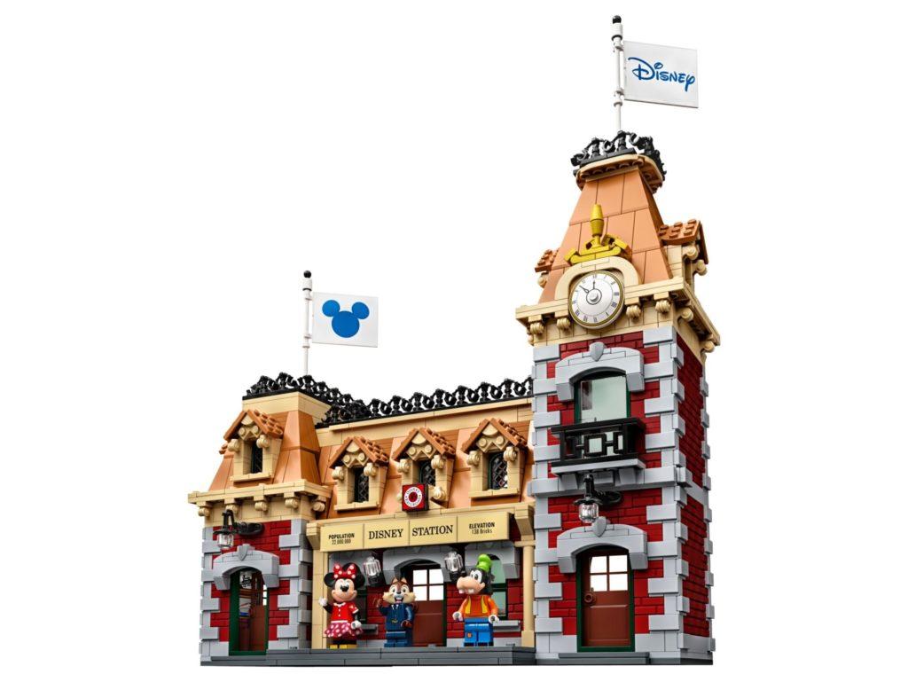 LEGO® 71044 Disney Zug mit Bahnhof - Bahnhof Vorderseite | ©LEGO Gruppe