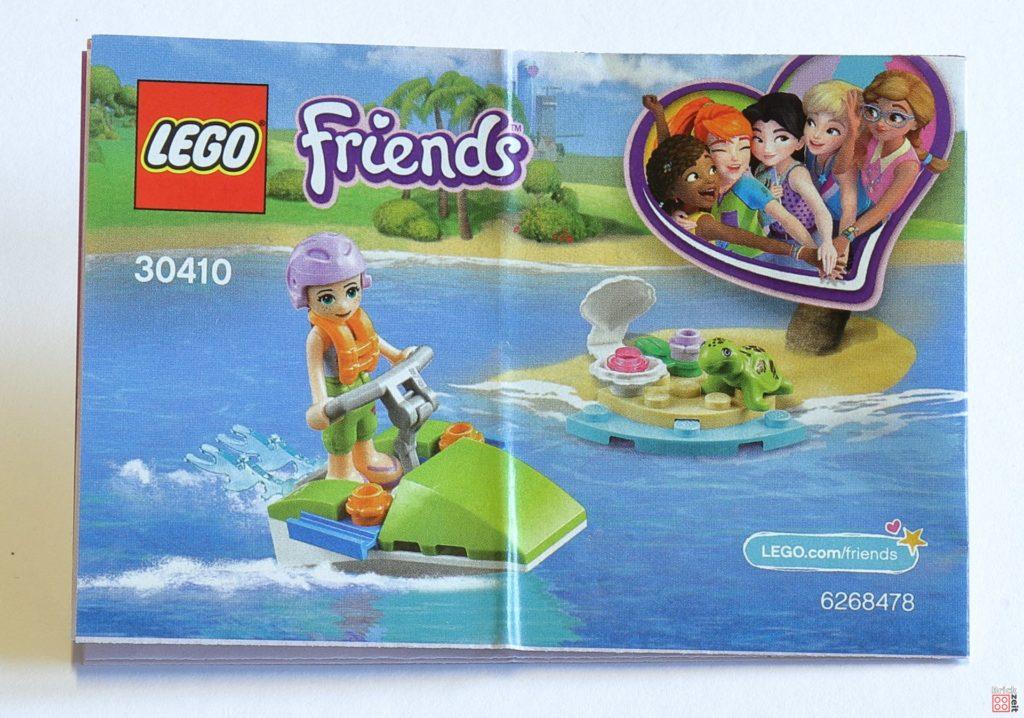 LEGO® Friends 30410 Mias Schildkröten Rettung Polybag - Anleitung | ©2019 Brickzeit