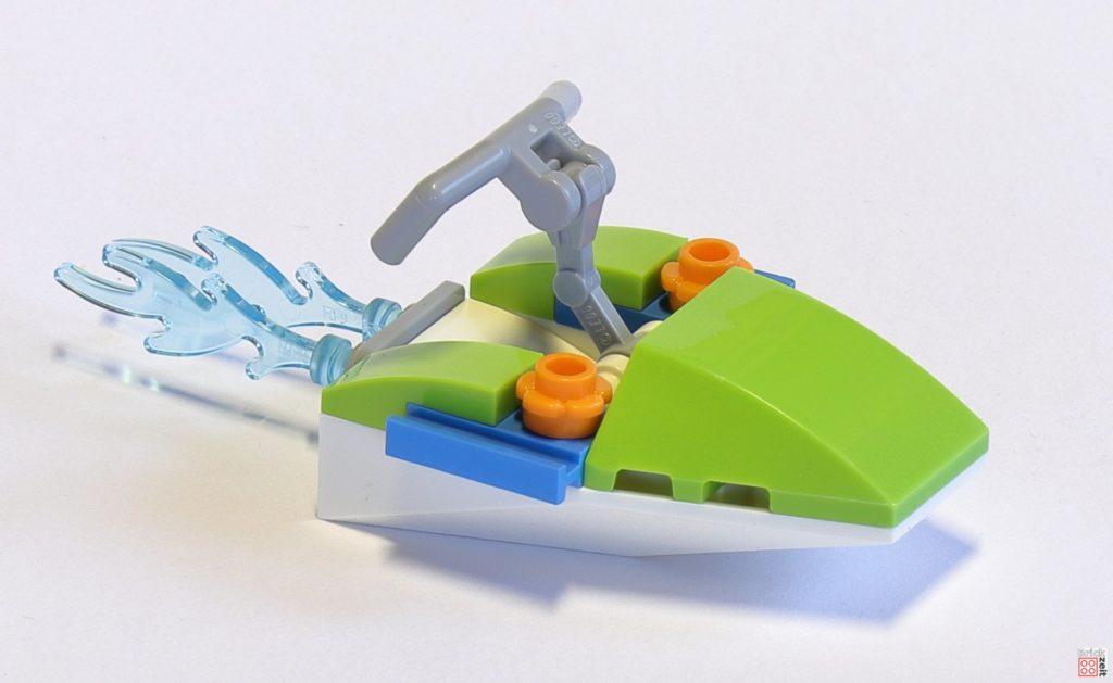 LEGO® Friends 30410 Mias Schildkröten Rettung Polybag - Jetski, vorne rechts | ©2019 Brickzeit