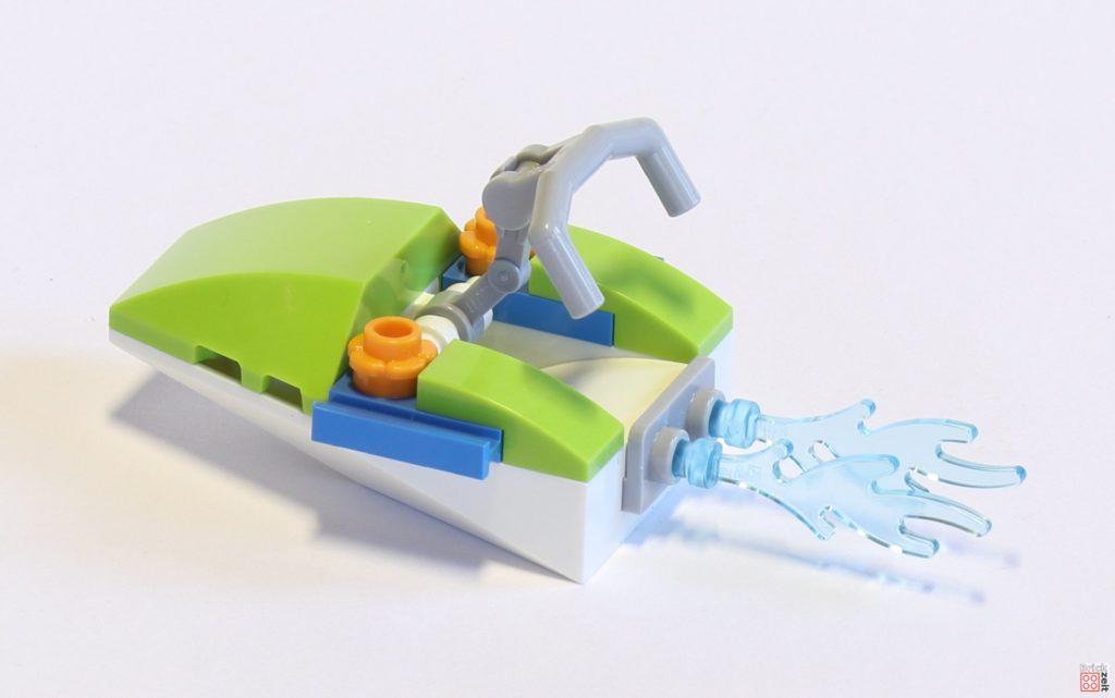 LEGO® Friends 30410 Mias Schildkröten Rettung Polybag - Jetski, hinten links | ©2019 Brickzeit