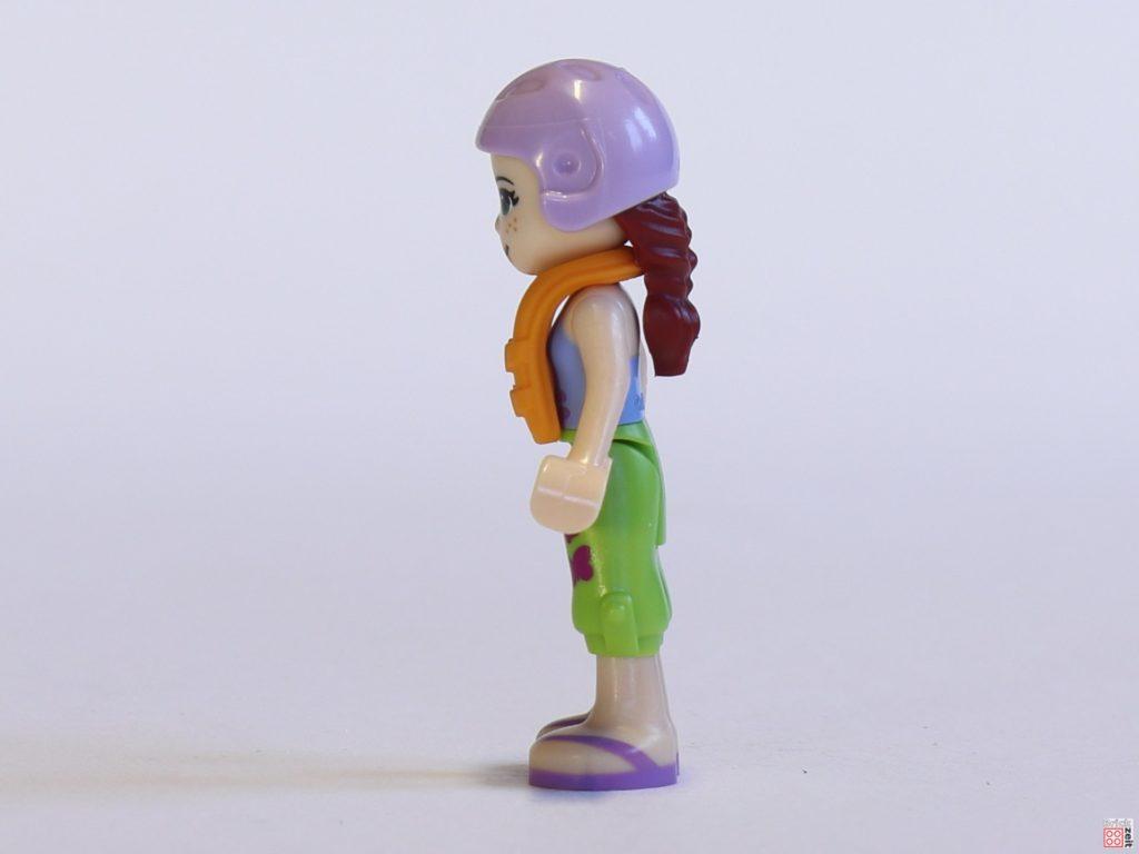 LEGO® Friends 30410 Mia mit Helm, linke Seite | ©2019 Brickzeit
