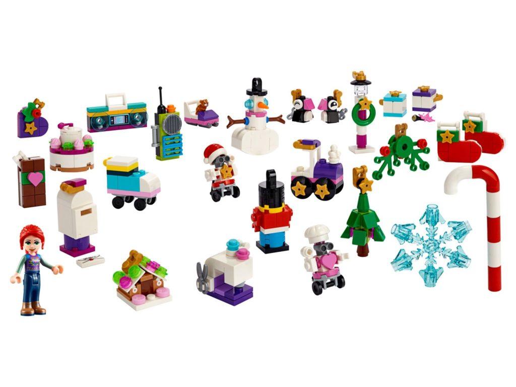 LEGO Friends 41382 Adventskalender 2019 - Inhalt | ©LEGO Gruppe