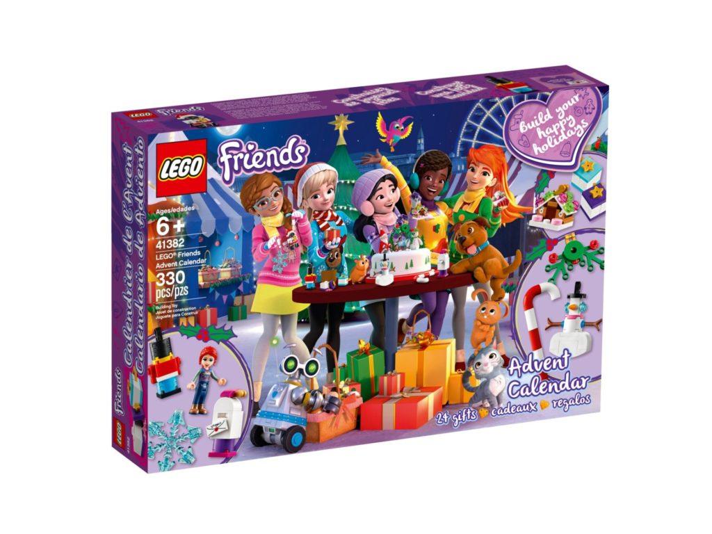 LEGO Friends 41382 Adventskalender 2019 - Packung Vorderseite | ©LEGO Gruppe
