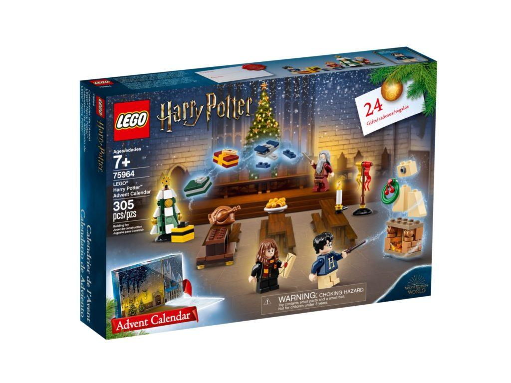 LEGO Harry Potter 75964 Adventskalender 2019 - Packung Vorderseite | ©LEGO Gruppe