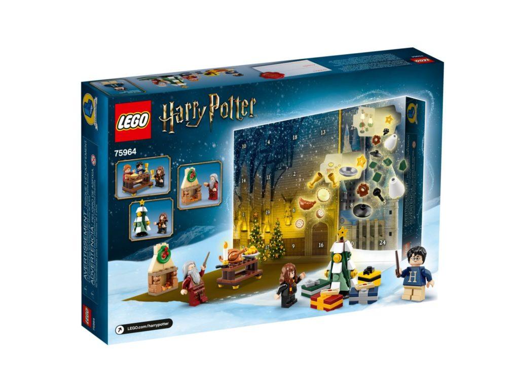 LEGO Harry Potter 75964 Adventskalender 2019 - Packung Rückseite | ©LEGO Gruppe