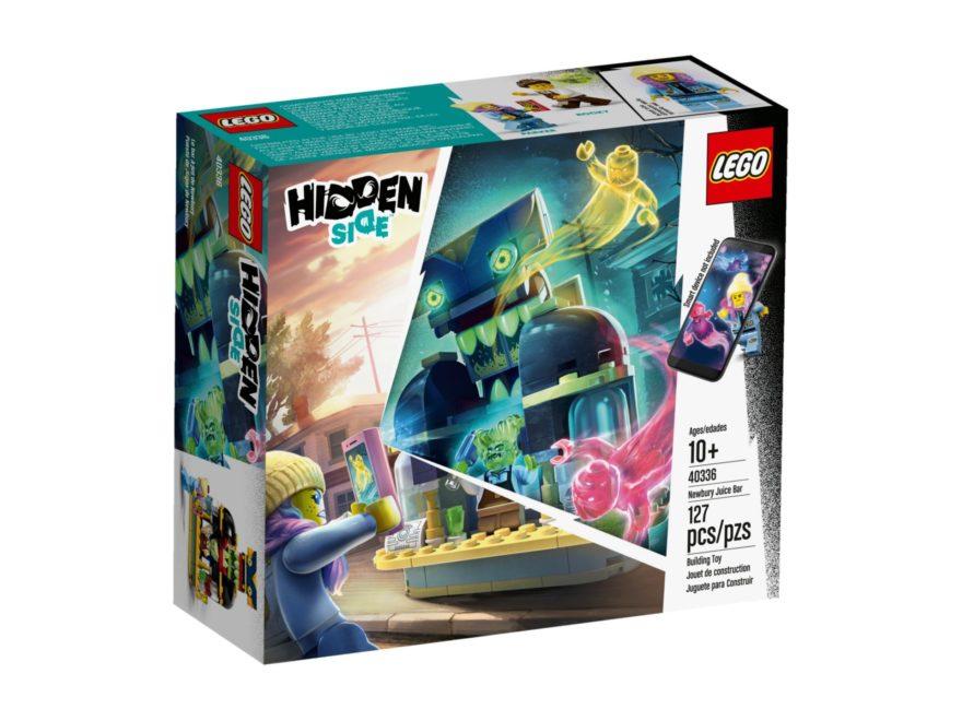 LEGO® Hidden Side 40336 Newburys Saftbar - Packung Vorderseite | ©LEGO Gruppe