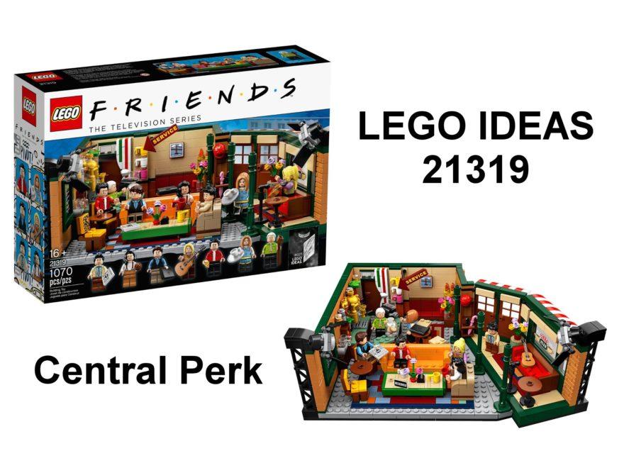LEGO® Ideas 21319 Central Perk aus F.R.I.E.N.D.S™ - Titelbild