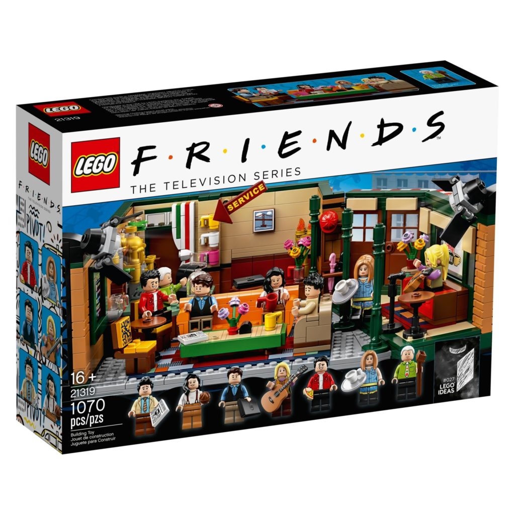 LEGO® Ideas 21319 Central Perk aus F.R.I.E.N.D.S™ - Packung, Vorderseite | LEGO Gruppe
