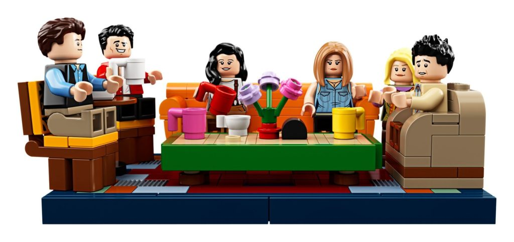 LEGO® Ideas 21319 Central Perk aus F.R.I.E.N.D.S™ - Das Sofa | LEGO Gruppe