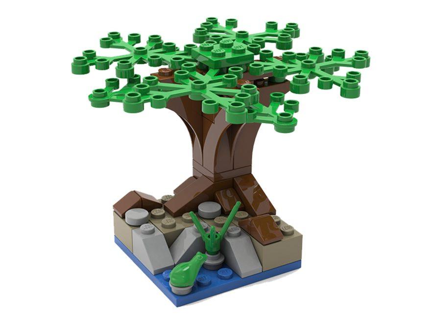 LEGO® Mini-Baum Bauaktion am 14.08.2019
