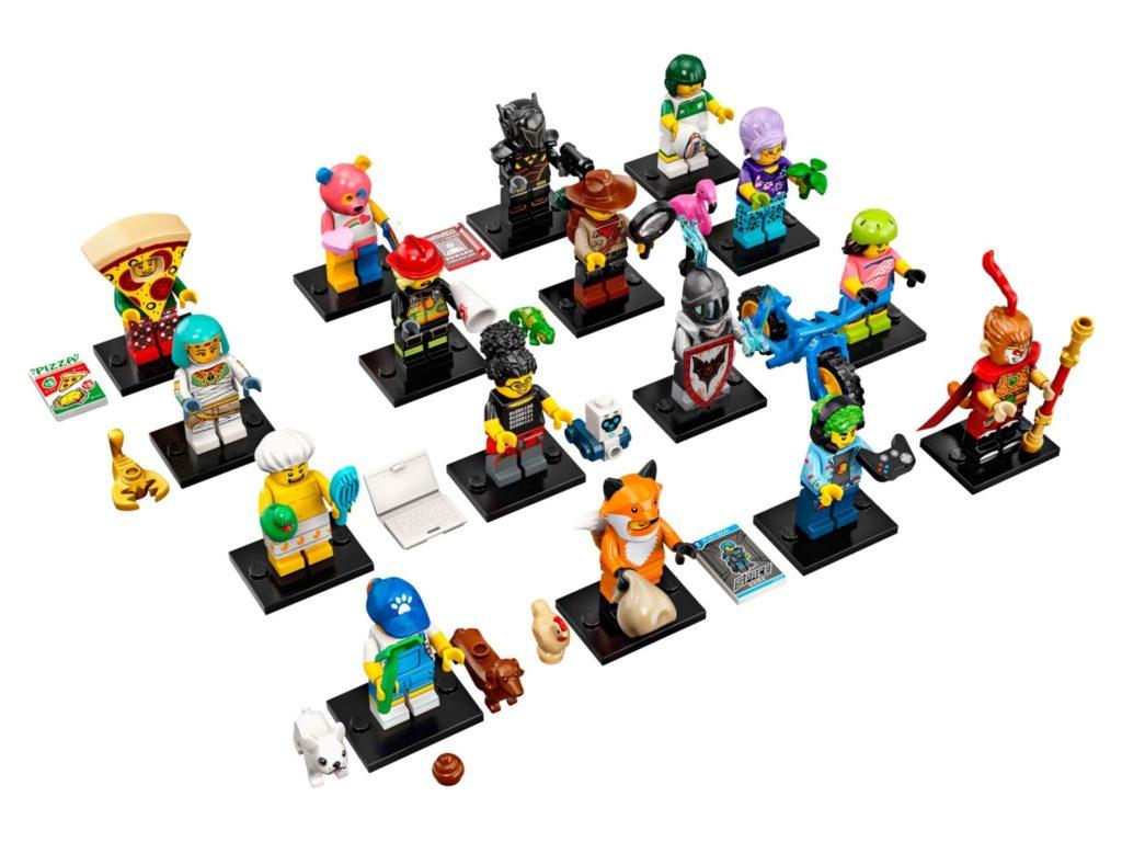LEGO® 71025 Minifiguren Serie 19 - Figurenübersicht| ©LEGO Gruppe