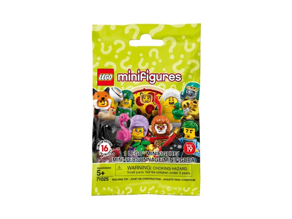 LEGO® 71025 Minifiguren Serie 19 - Blindbag | ©LEGO Gruppe