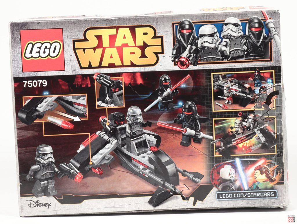 LEGO® Star Wars™ 75079 Shadow Troopers - Packung, Rückseite | ©2019 Brickzeit