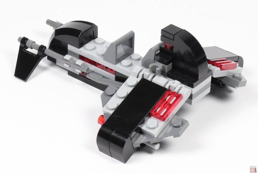 LEGO® Star Wars™ 75079 - fertiger Speeder, hinten rechts | ©2019 Brickzeit