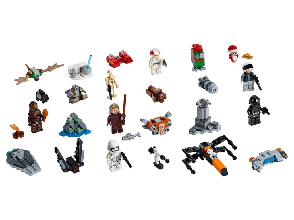 LEGO Star Wars 75245 Adventskalender 2019 - Inhalt | ©LEGO Gruppe