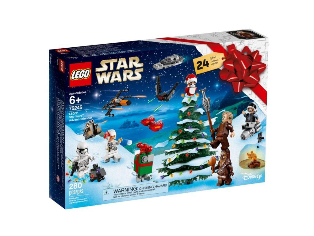 LEGO Star Wars 75245 Adventskalender 2019 - Packung Vorderseite | ©LEGO Gruppe