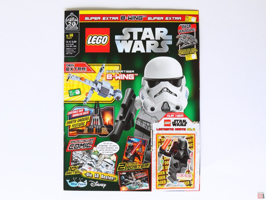 LEGO® Star Wars™ Magazin Nr. 50 (August 2019) - Cover ohne Extras | ©2019 Brickzeit