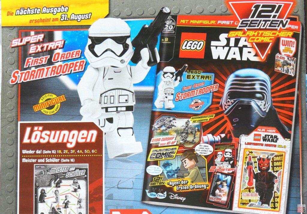 Heftvorschau LEGO® Star Wars™ Magazin Nr. 51 (September 2019) | ©2019 Brickzeit