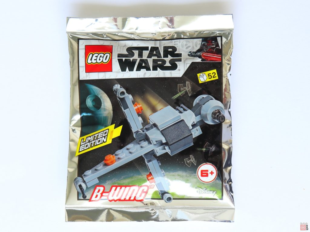 LEGO® Star Wars™ Magazin Nr. 50 (August 2019) - B-Wing Polybag ItemNr. 911950 | ©2019 Brickzeit