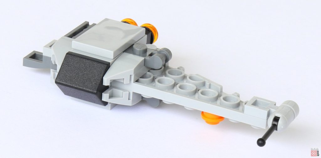 LEGO® Star Wars™ B-Wing Polybag ItemNr. 911950 - spezieller Bauschritt 2 | ©2019 Brickzeit