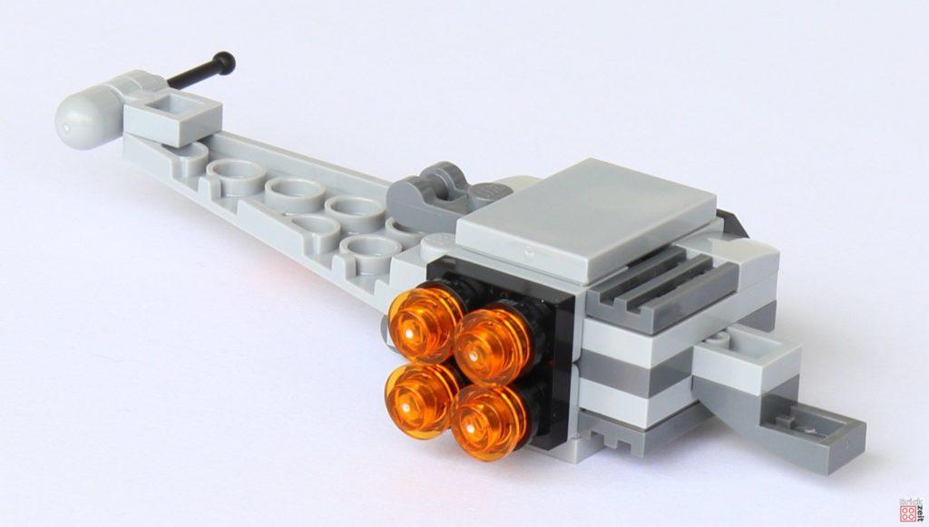LEGO® Star Wars™ B-Wing Polybag ItemNr. 911950 - spezieller Bauschritt 3 | ©2019 Brickzeit