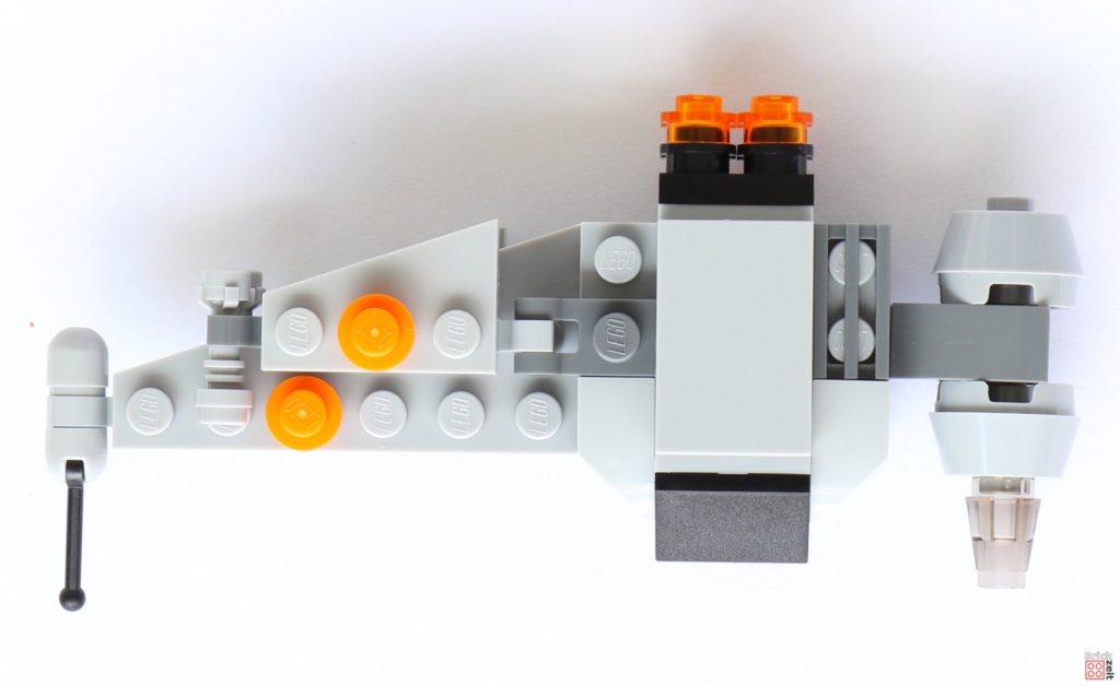 LEGO® Star Wars™ B-Wing Polybag ItemNr. 911950 - Draufsicht | ©2019 Brickzeit