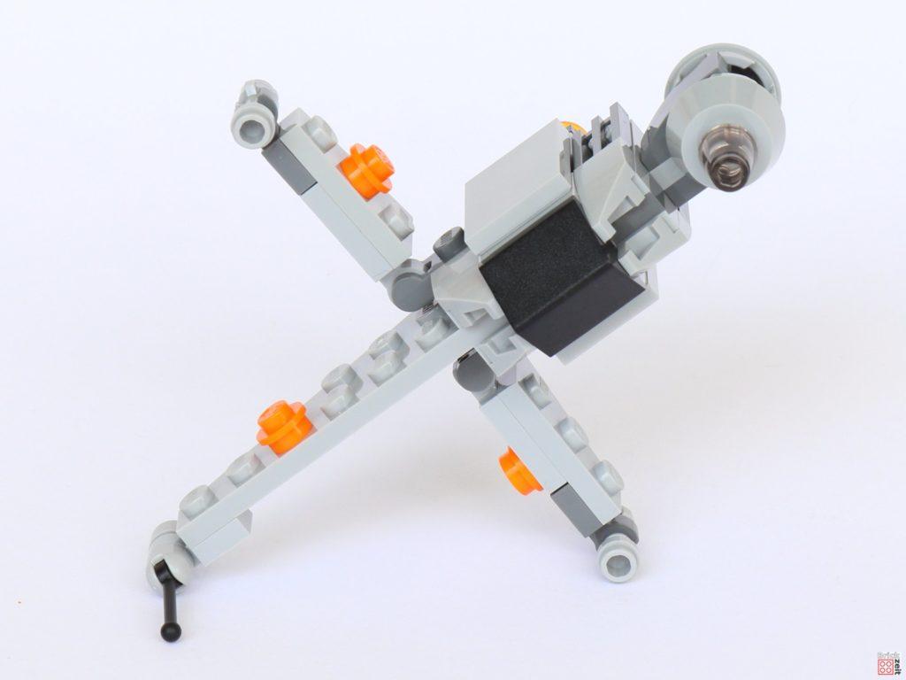 LEGO® Star Wars™ B-Wing Polybag ItemNr. 911950 - Vorderseite, offene Flügel | ©2019 Brickzeit