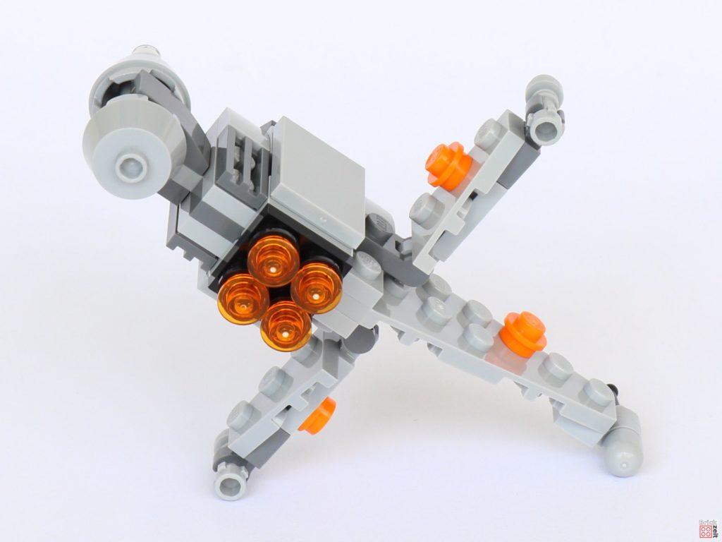 LEGO® Star Wars™ B-Wing Polybag ItemNr. 911950 - Rückseite, offene Flügel | ©2019 Brickzeit