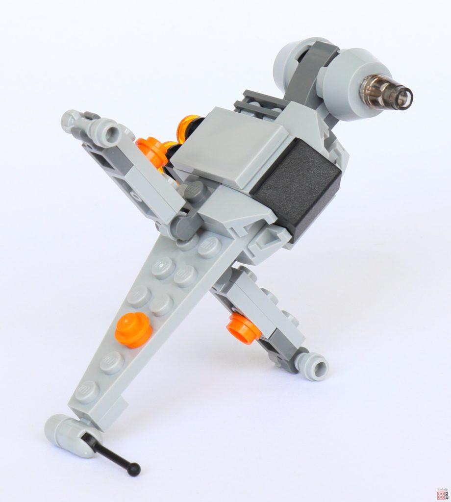 LEGO® Star Wars™ B-Wing Polybag ItemNr. 911950 - offene Flügel | ©2019 Brickzeit